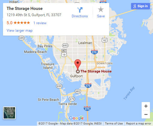 The Storage House in Gulfport FL